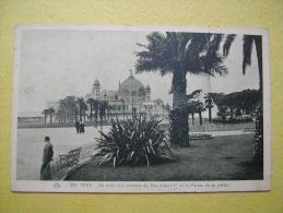 NICE. Le Jardin Albert 1er. - Parcs Et Jardins