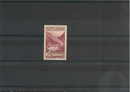 ANDORRE Année 1932/33 N° Y/T 41* Côte 15 €