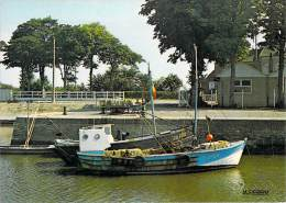 [14230] Calvados (Isigny-sur-Mer)  ISIGNY Le Port (1) (bateau ) * PRIX FIXE - France