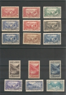 ANDORRE Année 1937/43 N° Y/T 77/92*/** Côte 425,10 €