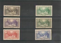 ANDORRE Année 1937/43 N° Y/T 72/76*/** Côte 38,50 €
