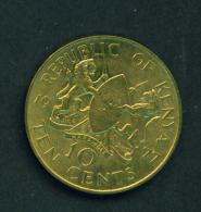 KENYA - 1977  10c  Circ. - Kenya