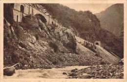 09 - Vallée De L'Ariège, Les Travaux Du Chemin De Fer Transpyrénéen - Unclassified