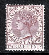 Straits Settlements  52  *  Wmk 2  CA - Straits Settlements