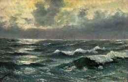 Raphael Tuck & Sons, Oilette - 525, Meeresstimmung - Tuck, Raphael