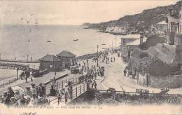 VENTNOR VIEW FROM THE SHELTER / ISLE OF - Ventnor