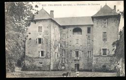 73 CHAMOUX SUR GELON / Le Château De Sonnaz / - Chamoux Sur Gelon