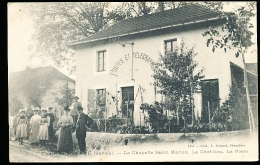 73 LA CHAPELLE SAINT MARTIN / Le Chef Lieu, La Poste / - Other Municipalities