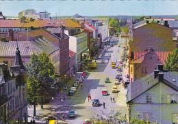 Sweden Karlstad Drottinggatan Street Scene 1956 - Suède