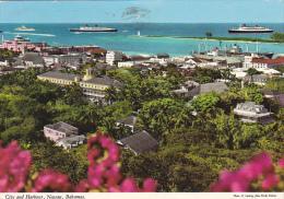 Bahamas Nassau City And Harbour Panoramic View - Bahamas