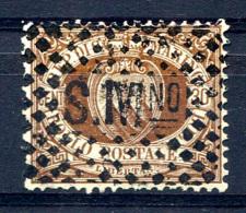 SAN MARINO 1877 Wmk Crown Perf.14 - Yv.6 (Mi.4, Sc.15) Perfect (VF) - Saint-Marin