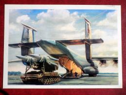 Cargo Aircraft - Russian Warplane - 1979 - Russia USSR - Unused - 1946-....: Moderne
