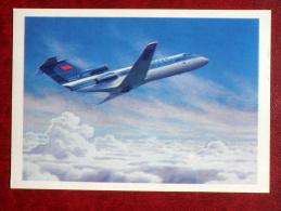 YAK-40 - Regional Jet Transport Aircraft - Airplane - 1979 - Russia USSR - Unused - 1946-....: Moderne