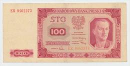 POLAND 100 Zloty 1948 VF+ P 139 - Polonia
