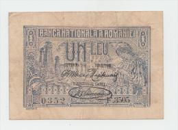 ROMANIA 1 Leu 1920 VF P 26 - Romania