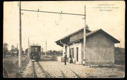 90 OFFEMONT / La Gare Du Tramway Electrique / - Offemont