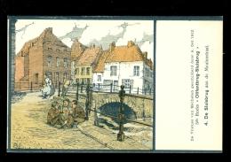 Cartes à Jouer  Jeu De Cartes   -  Partie De Carte -  De Vlietjes Van Mechelen ( Malines ) Door A. Ost - Cartes à Jouer