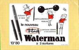 BUVARD : Stylo WATERMAN   Signe Pierre Lacroix - Papeterie
