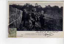 RAMBOUILLET - M. Le Roi D´Italie à La Chasse - S. M. Victor Emmanuel III Attendant La Battue Aux Lapins - Très Bon état - Rambouillet