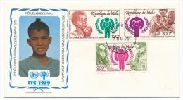 MALI => FDC => Année Internationale De L'Enfance - 3 Valeurs - 1979 - Mali (1959-...)