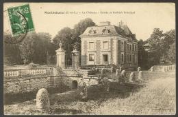 MONTBOISSIER Le Château Entrée Et Pavillon Principal (Lausseda.)  Eure & Loir (28) - Autres Communes