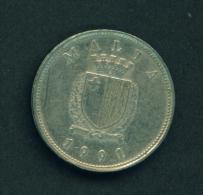 MALTA - 1991  25c  Circ. - Malta