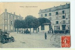 Vitry Sur Seine : Place De La Hunière, Pensionnat (élèves). 2 Scans. Edition ? - Vitry Sur Seine