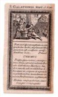 Santino Nuovo SAN GALAZIONE - Ristampa Tipografica Da Santino Antico - PERFETTO F42 - Religion & Esotericism
