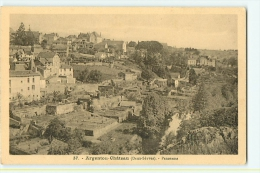 Argenton Ch�teau : Panorama. 2 Scans. Edition Jehly Poupin