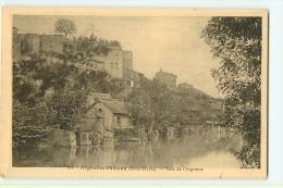 Argenton Château : Bord De L'Argenton. 2 Scans. Edition Jehly Poupin - Argenton Chateau