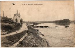 Dep 58   NIEVRE  7CP   Decize   Le Barrage   Place St Just   Ruines   Vue Générale   Les Promenades   Ruines Du Chateau - Decize