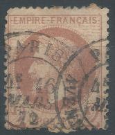 Lot N°22657  N°26, Oblit Cachet à Date De PARIS ( Avenue Joséphine ) - 1863-1870 Napoleon III With Laurels