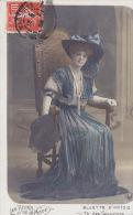 LES REINES DE LA MODE / BLUETTE D ARTOIS / THEATRE DES CAPUCINES / TRES JOLIE CARTE / CIRC 1909 - Théâtre