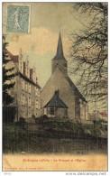 CPA  -  SAINT - SULPICE - Sur - RILLE   (61)    Le Prieuré Et L´ Eglise - France