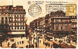 BELGIQUE : 1928 - Carte Postale Pour La Grande Bretagne - Cartas