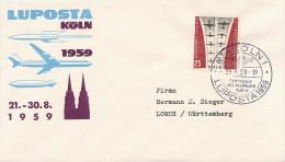 GERMANY  -   KOLN       LUPOSTA  '59 - [7] Federal Republic