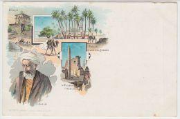 18933g LE CAIRE - Kiosque - Palmier De Scheich Abadde - Obélisque - Le Caire