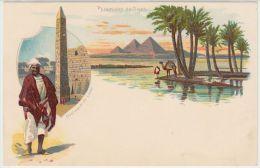 18934g LE CAIRE - Pyramides De Gizeh - Obélisque De Luxor - Le Caire