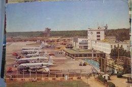 AIRPORT/ AEROPORT/ FLUGHAFEN     FRANKFURT MAIN  Carte Abimee - Aerodromi