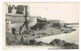 I672 Saint Malo - La Greve De Bon Secours / Non Viaggiata - Saint Malo