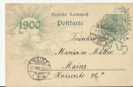 =DE GS 31,12,1899 NACH MAIZ - Deutschland