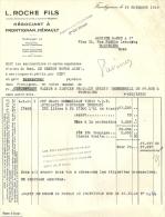 FRONTIGNAN  L. ROCHE FILS Negociant A Frontignan Herault  18.11.1948 - Alimentaire