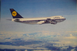 LUFTHANSA      B 747   D ABYT        AIRLINE ISSUE - 1946-....: Modern Era