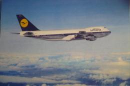 LUFTHANSA      B 747   D ABYT        AIRLINE ISSUE - 1946-....: Era Moderna
