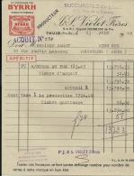 THUIR  BYRRH   J. & S. VIOLET Freres  Succursale De Lille  23.06.1949 - Alimentaire
