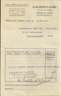 MARAIS DE LOMME  Ets DUTEMPLE & KORN  Vins & Spiritueux En Gros  Relevé De Compte  27.06.1949 - Alimentaire