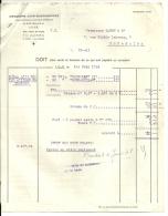 LILLE   IMPRIMERIE JEAN GUERMONPREZ   Etiquettes De Vins  1.06.1948 - Alimentaire