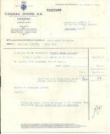 CHATEAU DE COGNAC  COGNAC OTARD SA    24.10.1949 - Alimentaire