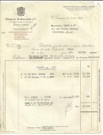 JARNAC  BISQUIT DUBOUCHE & C°   Livraison De Cognac   5.05.1950 - Alimentaire