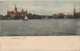 ALLEMAGNE SCHWERIN  BLICK VOM SEE AUS - Schwerin